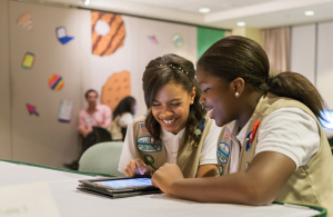 Girl Scouts Go Digital