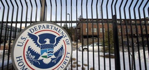 FILE - This Feb. 24, 2015, file photo, shows the Homeland Security Department headquarters in northwest Washington. The Department of Homeland Security said in a statement Thursday, June 4, 2015, that data from the Office of Personnel Management and the Interior Department had been hacked. (AP Photo/Manuel Balce Ceneta, File)
