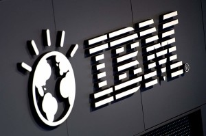 The logo of IBM is seen at their booth prior to the opening of the CeBIT IT fair on March 5, 2012 in Hanover, central Germany. Brazil is the partner country of the CeBIT 2012, which is running from March 6 to 10, 2012.    AFP PHOTO / ODD ANDERSEN (Photo credit should read ODD ANDERSEN/AFP/Getty Images)