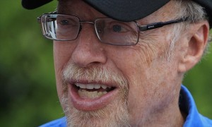 AUGUSTA, GA - APRIL 04:  Phil Knight of Nike is seen during a practice round prior to the start of The Masters at Augusta National Golf Club on April 4, 2012 in Augusta, Georgia.  (Photo by Scott Halleran/Getty Images for Golfweek)