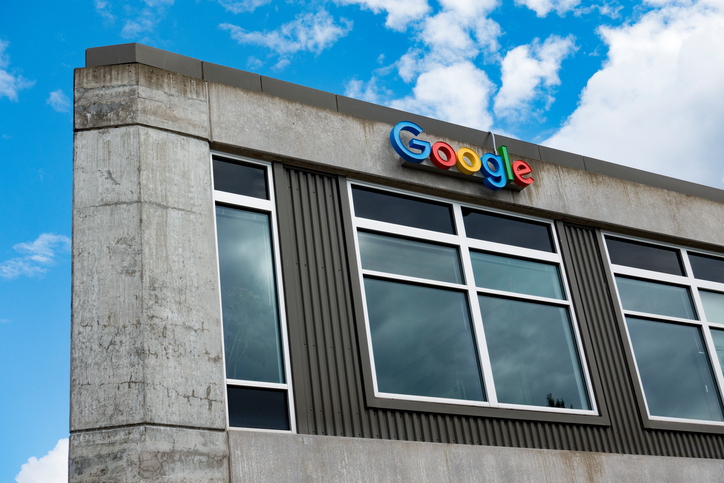 Seattle, Washington/USA - August 7, 2016: Outside View of Google Office Building in Seattle, Washington's Fremont Neighborhood