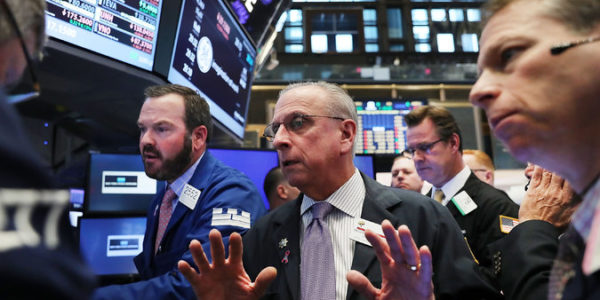 Stocks close lower as concerns about Trump's policies grow