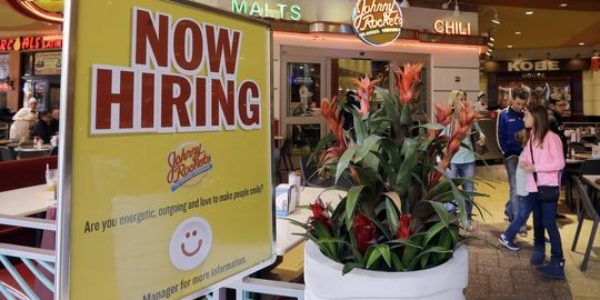 Americans are still rushing back into the job market