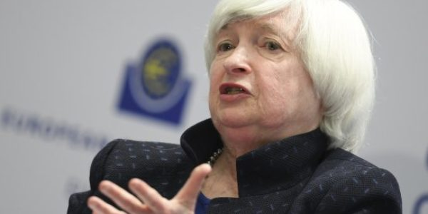 Yellen says she'll leave the Fed once Powell takes over